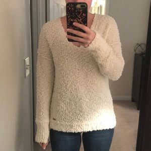 Abercrombie and Fitch chenille sweater